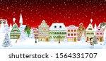houses  city  church  trees....   Shutterstock .eps vector #1564331707