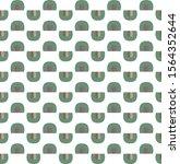 seamless vector pattern.... | Shutterstock .eps vector #1564352644