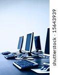 computers in it office | Shutterstock . vector #15643939