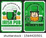 Vector Saint Patrick Day Irish...