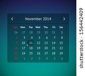 dark transparent calendar page...