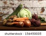 Vegetable Harvest Still Life ...