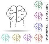 fast acting brain multi color...