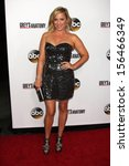 """jessica capshaw at the """"grey's...   Shutterstock . vector #156466349"""