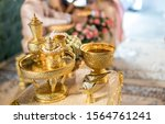 thai wedding accessory for... | Shutterstock . vector #1564761241