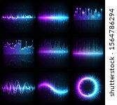 sound wave  music audio...