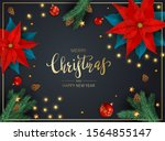 decorations with flowers of red ...   Shutterstock .eps vector #1564855147