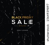 black friday banner. black... | Shutterstock .eps vector #1564939897
