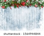 christmas snow background with...