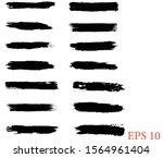 paint brushes  clip art  paint... | Shutterstock .eps vector #1564961404