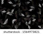 light black vector doodle... | Shutterstock .eps vector #1564973821