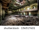 Old Theater In Destroyed...