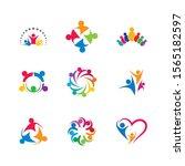community vector icon... | Shutterstock .eps vector #1565182597