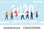 landing page for organization... | Shutterstock .eps vector #1565223604