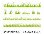 vector illustration of green... | Shutterstock .eps vector #1565251114