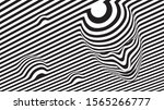 striped face. illusion of...   Shutterstock .eps vector #1565266777