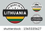 made in lithuania collection... | Shutterstock .eps vector #1565335627