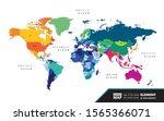 Grand World Map Graphic Elemen...