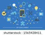 app development web banner....