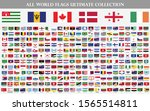 flags vector of the world | Shutterstock .eps vector #1565514811