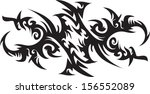 tattoos for arms and shoulders...   Shutterstock .eps vector #156552089