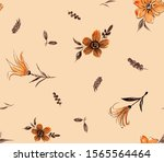 hand painting abstract... | Shutterstock . vector #1565564464