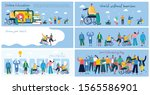 vector background with disabled ...   Shutterstock .eps vector #1565586901