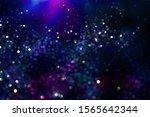 glitter bokeh lighting effect...   Shutterstock . vector #1565642344