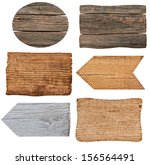 collection of various  empty... | Shutterstock . vector #156564491