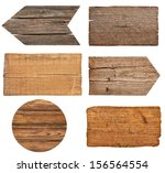 collection of various  empty... | Shutterstock . vector #156564554