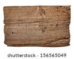 close up of an empty wooden... | Shutterstock . vector #156565049