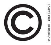 Copyright Symbol Icon. C Letter ...