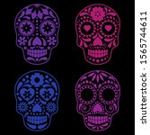 vector collection of mexican...   Shutterstock .eps vector #1565744611