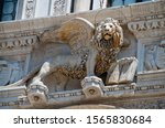 Venice  Italy  The Lion Of St....