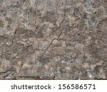 aged, cracked, grungy cement background - stock photo