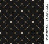golden minimal floral geometric ...   Shutterstock .eps vector #1565982667