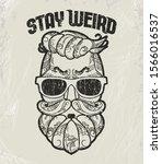hipster t shirt design  retro... | Shutterstock .eps vector #1566016537