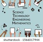 stem science technology...   Shutterstock .eps vector #1566017944