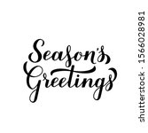 Season S Greetings Calligraphy...