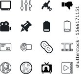 media vector icon set such as ...   Shutterstock .eps vector #1566171151