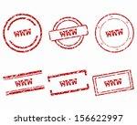 www stamps | Shutterstock .eps vector #156622997