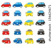 cars colorful | Shutterstock .eps vector #156624671