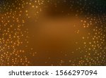 dark orange vector pattern with ... | Shutterstock .eps vector #1566297094