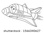 coloring page. coloring picture ... | Shutterstock .eps vector #1566340627