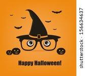 happy halloween | Shutterstock .eps vector #156634637