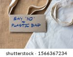 """hand written text """"say no to... 
