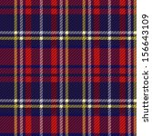 seamless checkered vector...   Shutterstock .eps vector #156643109