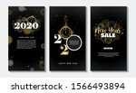 happy new year  2020 .... | Shutterstock . vector #1566493894