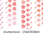 light red vector doodle layout. ...   Shutterstock .eps vector #1566502864