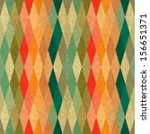 colorful seamless geometric... | Shutterstock .eps vector #156651371
